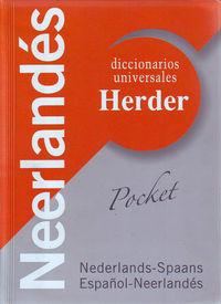 DICCIONARIO UNIVERSAL NEDER / ESP - ESP / NEDER