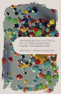 ORGANIZACION PSICOTICA DE LA PERSONALIDAD