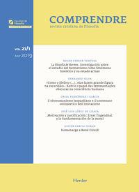 Revista Comprendre Vol. 21 / 1 2019 - Aa. Vv.