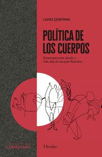 POLITICA DE LOS CUERPOS - EMANCIPACIONES DESDE Y MAS ALLA DE JACQUES RANCIERE