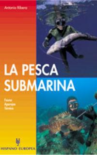 La pesca submarina - A. Ribera