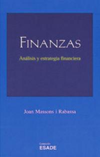 FINANZAS - ANALISIS Y ESTRATEGIA FINANCIERA
