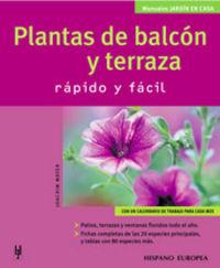 PLANTAS DE BALCON Y TERRAZA - RAPIDO Y FACIL