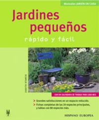 JARDINES PEQUEÑOS - RAPIDO Y FACIL