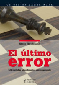 ULTIMO ERROR, EL