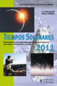 2011 - Tiempos Solunares - John Alden Knight / Jacqueline E. Knight