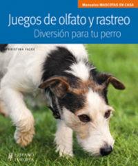 JUEGOS DE OLFATO Y RASTREO - DIVERSION PARA TU PERRO