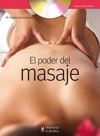 Poder Del Masaje, El (+dvd) - Maria Angeles Garcia Moreno