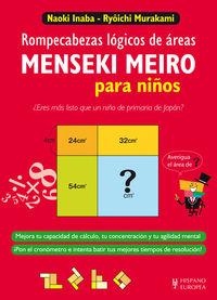 MENSEKI MEIRO PARA NIÑOS - ROMPECABEZAS LOGICOS DE AREAS