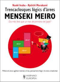 Menseki Meiro - Trencaclosques Logics D'arees - Naoki Inaba / Ryoichi Murakami