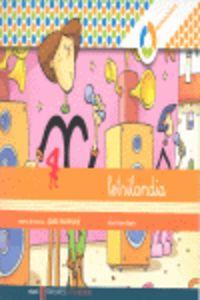 Ei - Cuad Escritura 4 Pauta Espiral Montessori - Letrilandia - Aa. Vv.