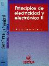 Principios De Electricidad Y Electronica Ii - Antonio Hermosa Donate