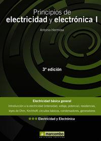 PRINCIPIOS DE ELECTRICIDAD Y ELECTRONICA I