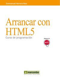 ARRANCAN CON HTML5 - CURSO DE PROGRAMACION