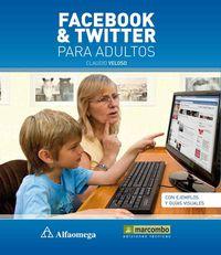 FACEBOOK & TWITTER PARA ADULTOS