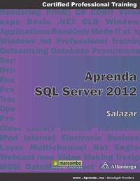 APRENDER SQL SERVER 2012