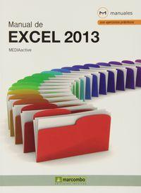 Manual De Excel 2013 - Aa. Vv.