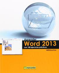 APRENDER WORD 2013 CON 100 EJERCICIOS PRACTICOS