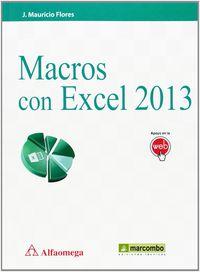 MACROS CON EXCEL 2013