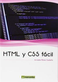 HTML Y CSS FACIL