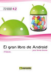 El (5 ed) gran libro de android - Jesus Tomas