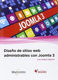 DISEÑO DE SITIOS WEB ADMINISTRABLES CON JOOMLA 3