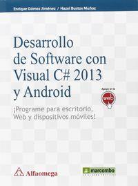 DESARROLLO DE SOFTWARE CON C# 2013 Y ANDROID