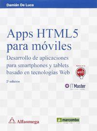 APPS HTML5 PARA MOVILES - DESARROLLO DE APLICACIONES PARA SMARTPHONES Y TABLETS