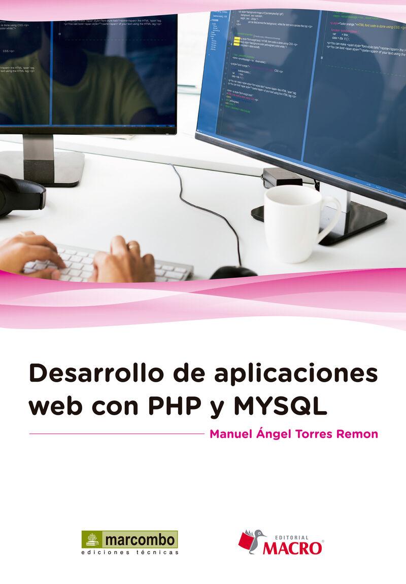 Desarrollo De Aplicaciones Web Con Php Y Mysql - Manuel Angel Torres Remon