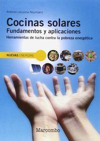 COCINAS SOLARES - FUNDAMENTOS Y APLICACIONES - HERRAMIENTAS DE LUCHA CONTRA LA POBREZA ENERGETICA