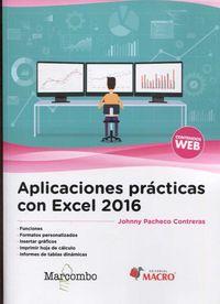 APLICACIONES PRACTICAS CON EXCEL 2016