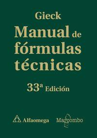 (33 ED) MANUAL DE FORMULAS TECNICAS