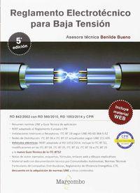 (5 ED) REBT - REGLAMENTO ELECTROTECNICO PARA BAJA TENSION