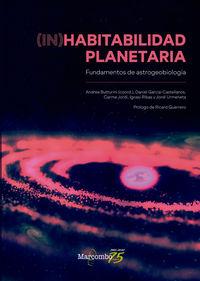 (IN) HABITABILIDAD PLANETARIA