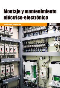 GM - MONTAJE Y MANTENIMIENTO ELECTRICO-ELECTRONICO