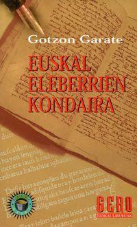 Euskal Eleberrien Kondaira - Gotzon Garate