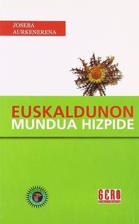 Euskaldunon Mundua Hizpide - J. Aurkenerena Barandiaran