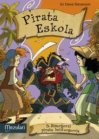 Pirata Eskola - Bizargorri Pirata Beldurgarria - Mario Masqualotto