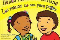 Las hands are not for hitting = manos no son para pegar - Martine Agassi