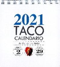TACO CALENDARIO CON PEANA 2021 - CORAZON DE JESUS (PORTADA SAGRADO CORAZON)