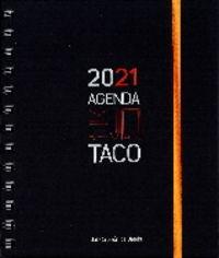 agenda taco 2021 - corazon de jesus (naranja) - Aa. Vv.