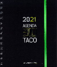AGENDA TACO 2021 - CORAZON DE JESUS (VERDE)