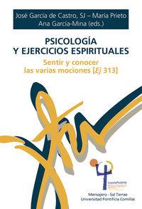 PSICOLOGIA Y EJERCICIOS ESPIRITUALES - SENTIR Y CONOCER LAS VARIAS MOCIONES