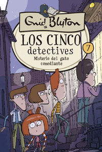 CINCO DETECTIVES, LOS 7 - MISTERIO DEL GATO COMEDIANTE