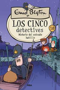 cinco detectives, los 10 - misterio extraño hatillo - Enid Blyton