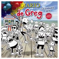 Calendario 2019 - Diario De Greg - Jeff Kinney