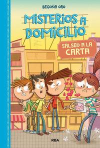 MISTERIOS A DOMICILIO 5 - SALSEO A LA CARTA