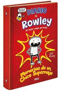 Diario De Rowley 1 - ¡un Chico Super Guay! - Jeff Kinney