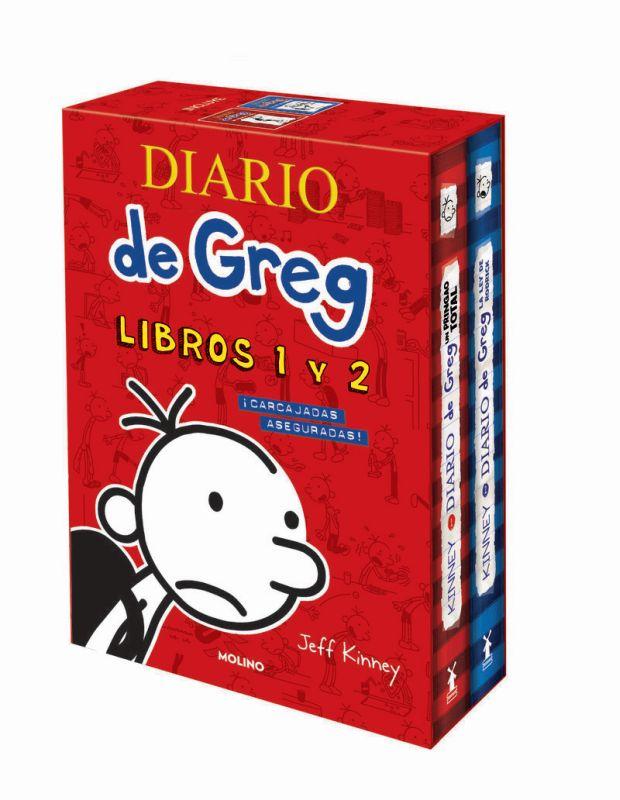 ESTUCHE DIARIO DE GREG 1 Y 2 (UN PRINGAO TOTAL Y LA LEY DE RODRICK)