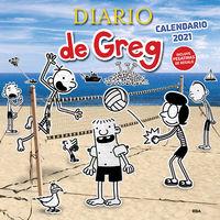 CALENDARIO 2021 - DIARIO DE GREG